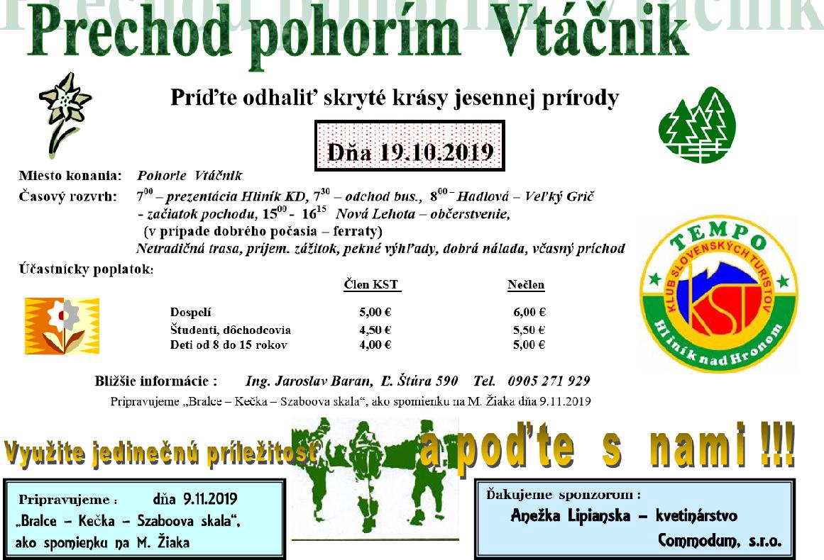 Vtáčnik 19.10.2019