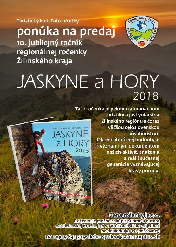 Rocenka JASKYNE a HORY 2018 zdarma