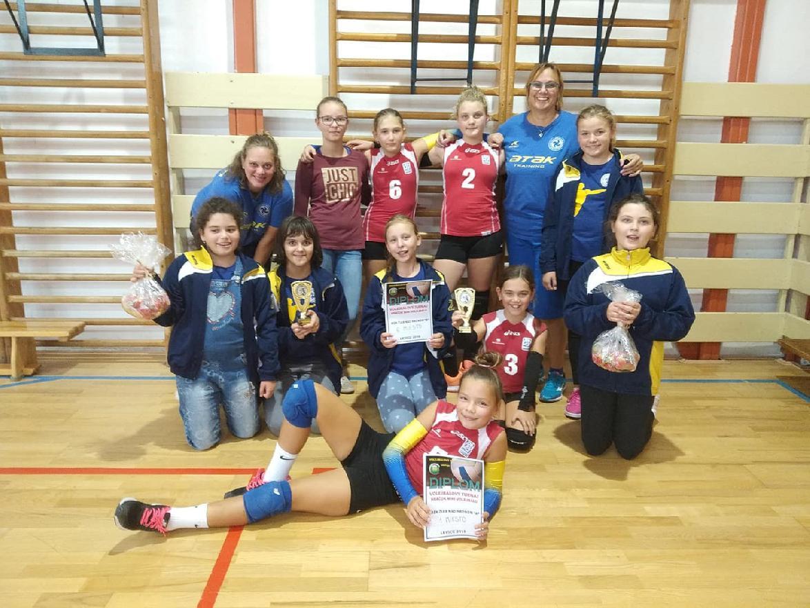 Mladšie žiačky VK víťazkami turnaja v Leviciach