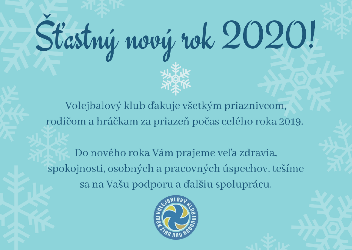 obr: ŠŤASTNÝ NOVÝ ROK 2020
