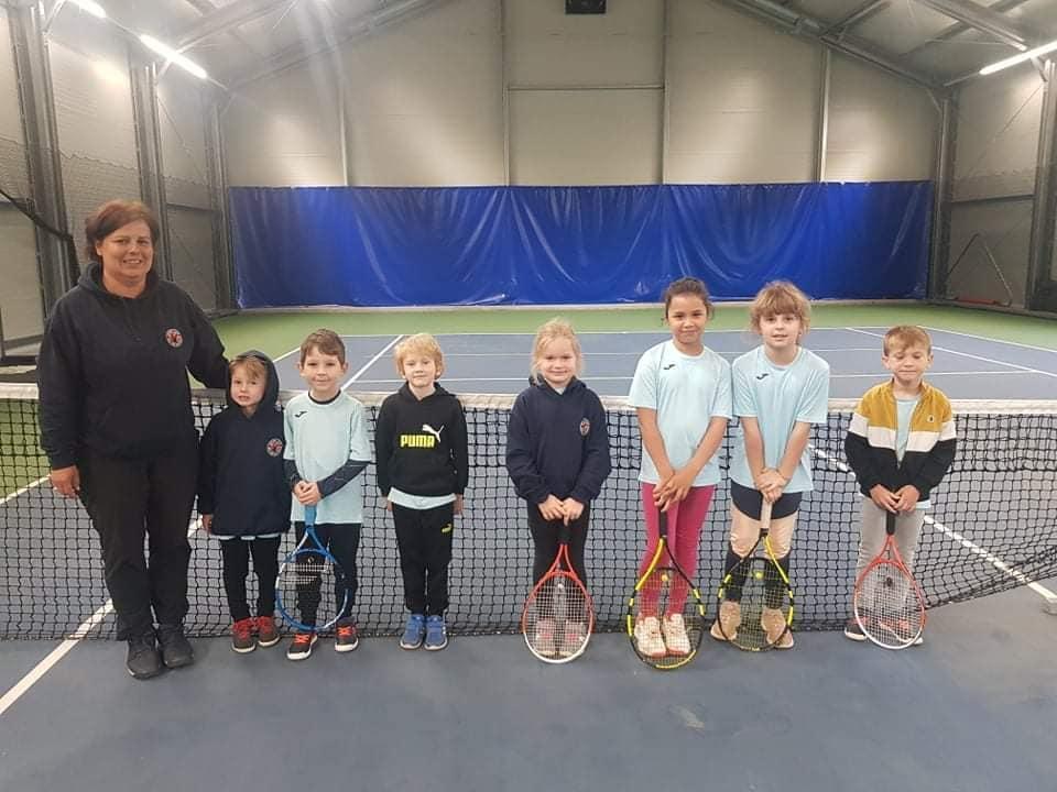 Tenisový klub -družstvo deti do 8 rokov